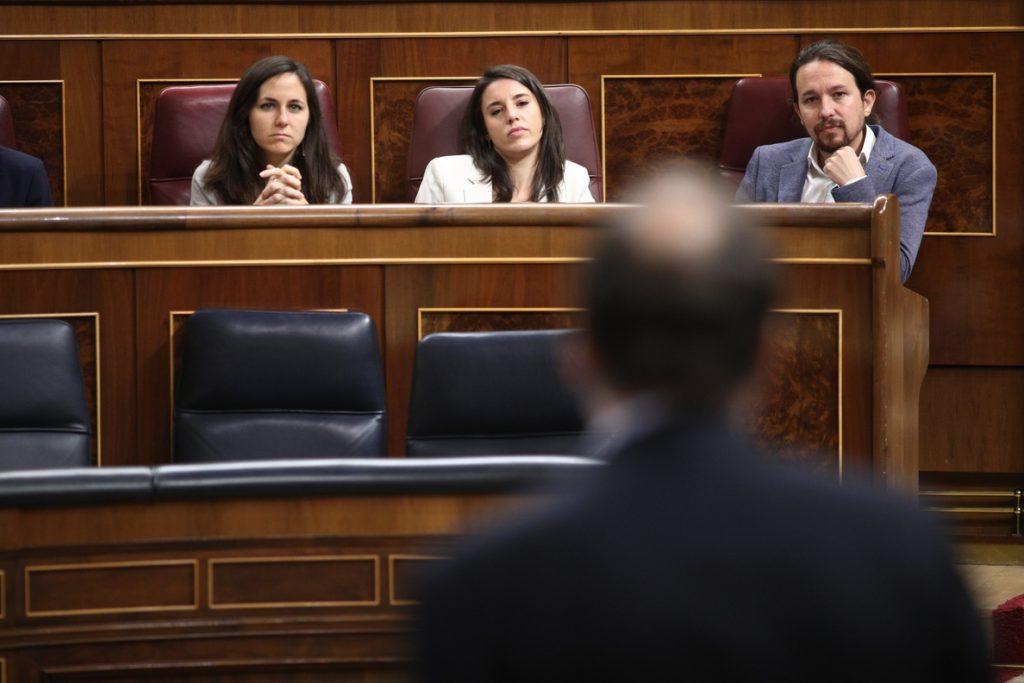 Pablo Iglesias quiere que Rajoy aclare en el Congreso si tiene apoyos para aprobar los PGE o los prorrogará