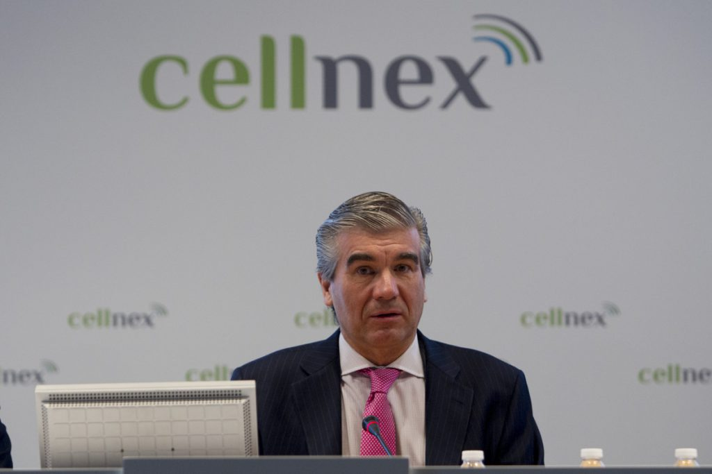 Reynés renuncia a la presidencia de Cellnex y lo sustituye Tobías Martínez