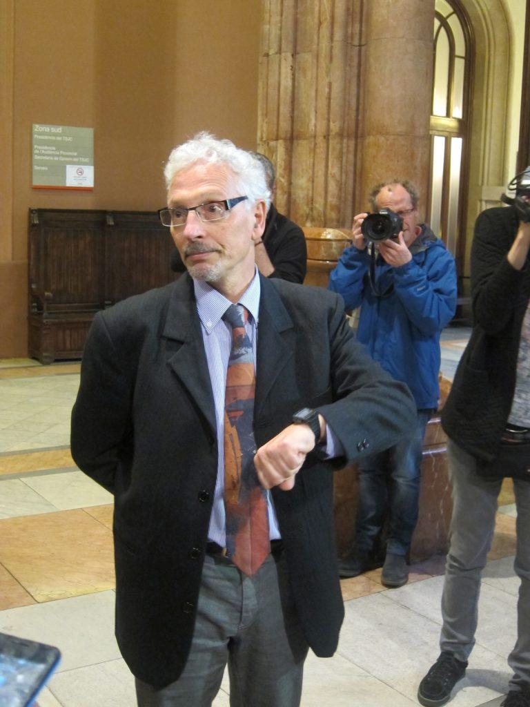 Santiago Vidal niega que el Govern tuviera los datos fiscales de los catalanes: «No puedo decir que sea cierto»