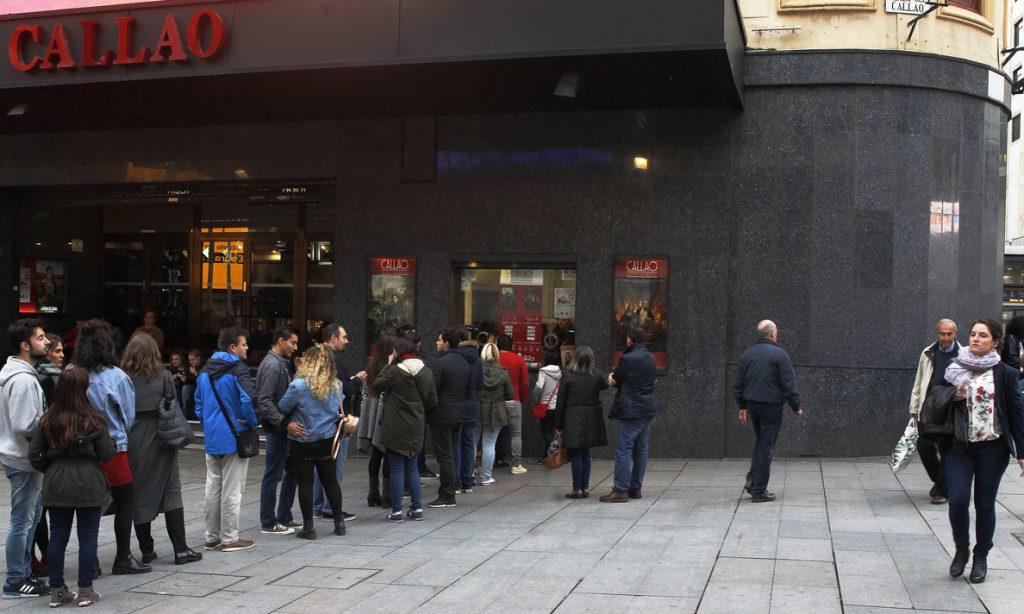 La asistencia a los cines de España y la UE cayó ligeramente en 2017