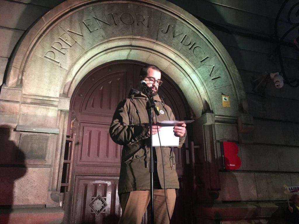 Cuixart pide unidad a JxCat y ERC y que su situación de prisión «no condicione» sus decisiones