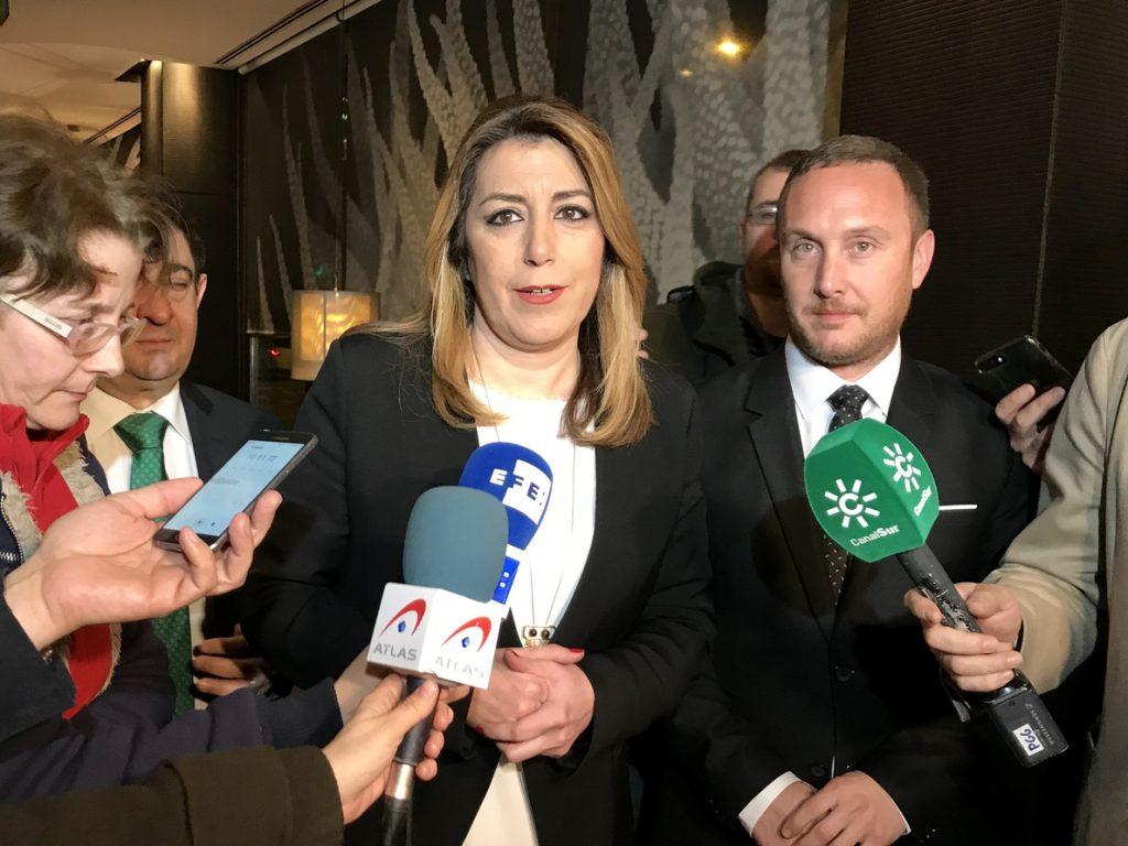 Díaz excusa su ausencia en el Comité Federal y niega plantón a Sánchez: «Es mi secretario general y tiene todo mi apoyo»