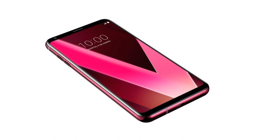 LG V30 Pink se pondrá a la venta en España el 19 de febrero