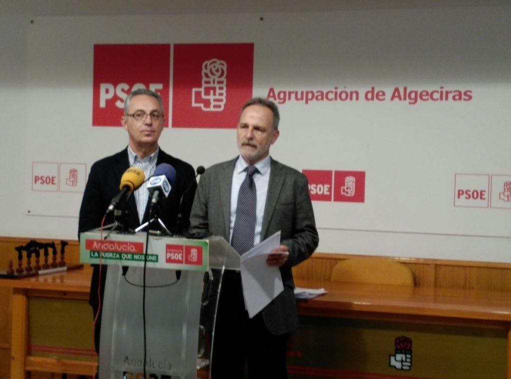 PSOE dice que «con solo 20 agentes más Zoido no solucionará el problema de inseguridad en el Campo de Gibraltar»