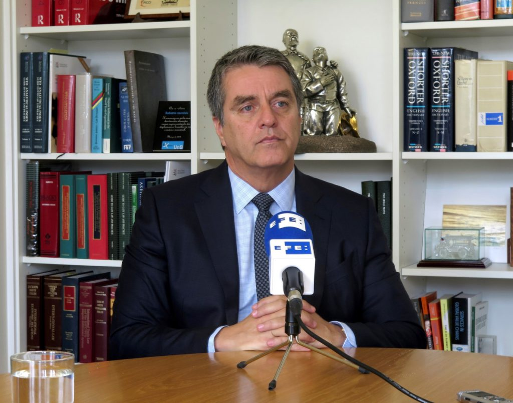 El director general de la OMC: «No hay guerra comercial pero puede venir»