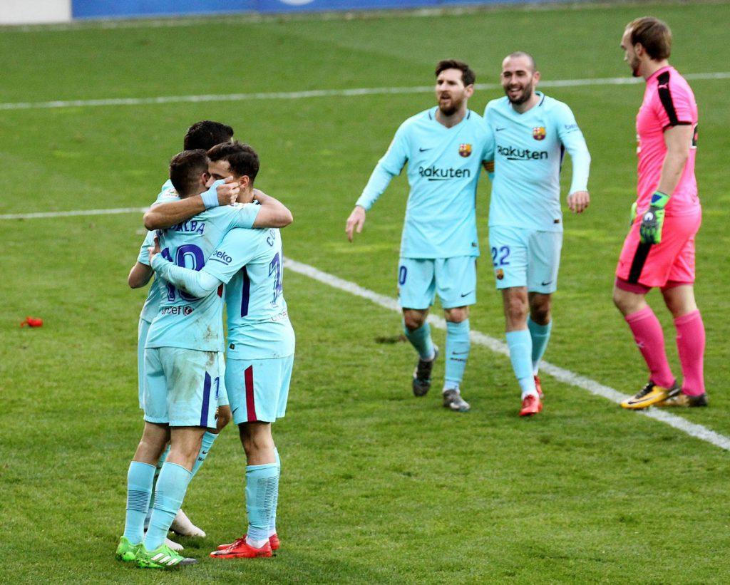 El Barcelona vuelve a la efectividad