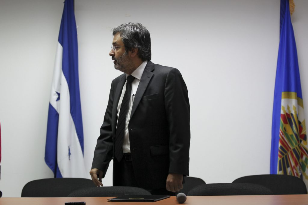 Diferencias empañan el trabajo de la Misión de la OEA contra la corrupción en Honduras
