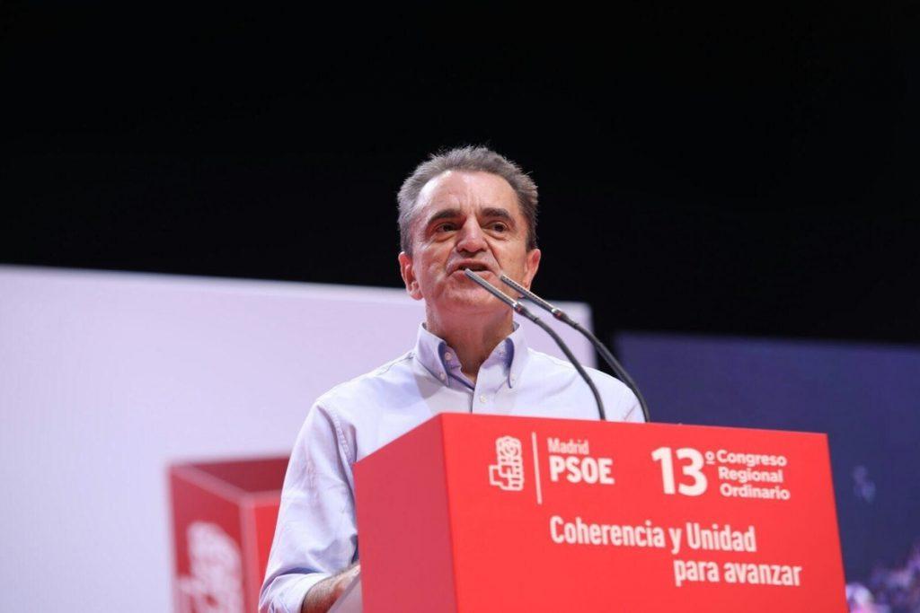 El líder del PSOE-M cree que Rajoy debería convocar elecciones si España no abandona «la parálisis»