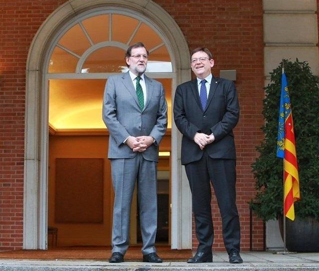 Puig, a Rajoy: «No es tiempo de turismo partidista, es tiempo de cumplimiento de los compromisos adquiridos»