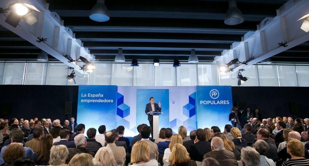 Rajoy defiende al PP como un partido de oportunidades y no de oportunismos «a pesar de los pesares»