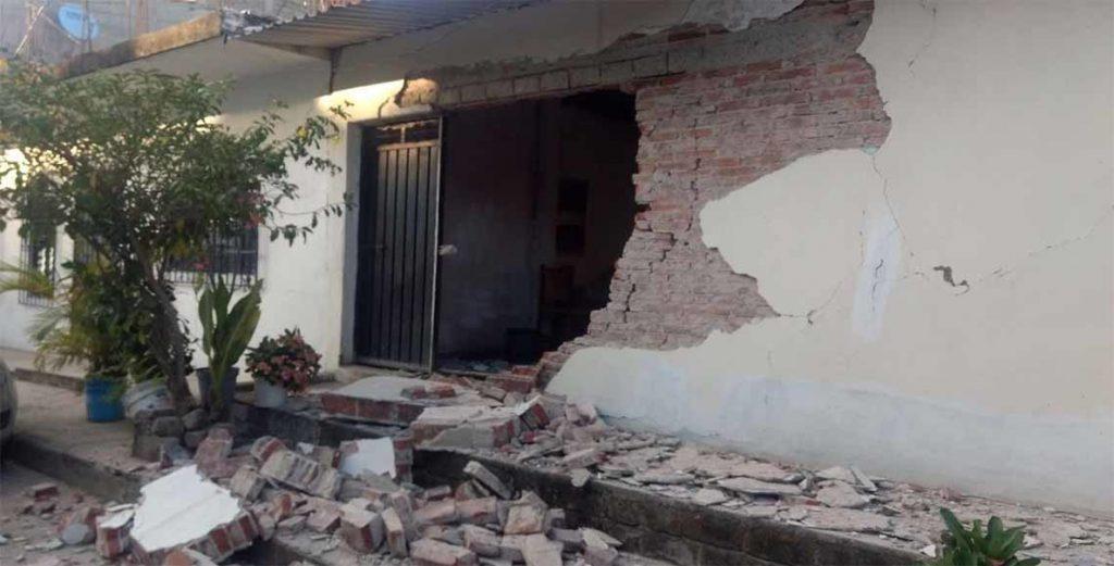Autoridades confirman solo daños menores por terremoto en el sur de México