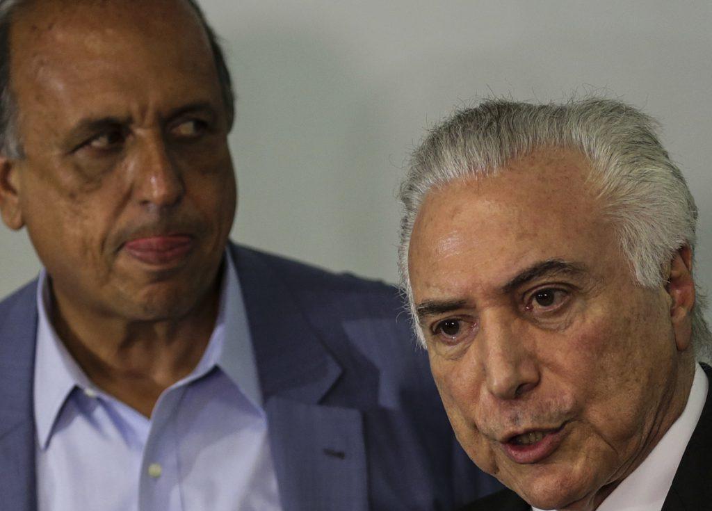 Temer crea el Ministerio de Seguridad, pero no detalla la intervención en Río