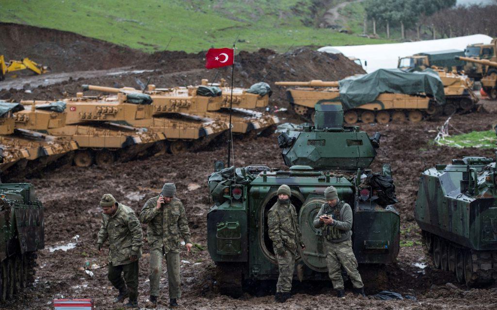 Turquía afirma que ha conquistado 300 kilómetros cuadrados en Afrin