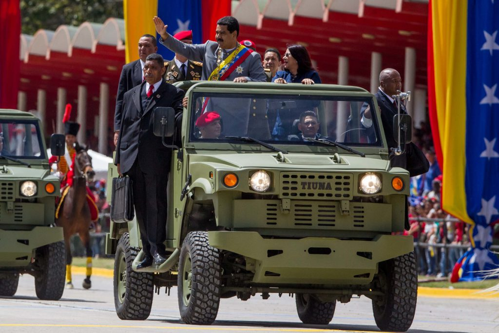 Venezuela «afinará puntería» con ejercicios militares en época electoral