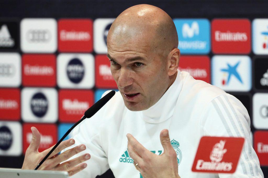 Zidane admite que entrenar al Real Madrid es «muchísimo desgaste»