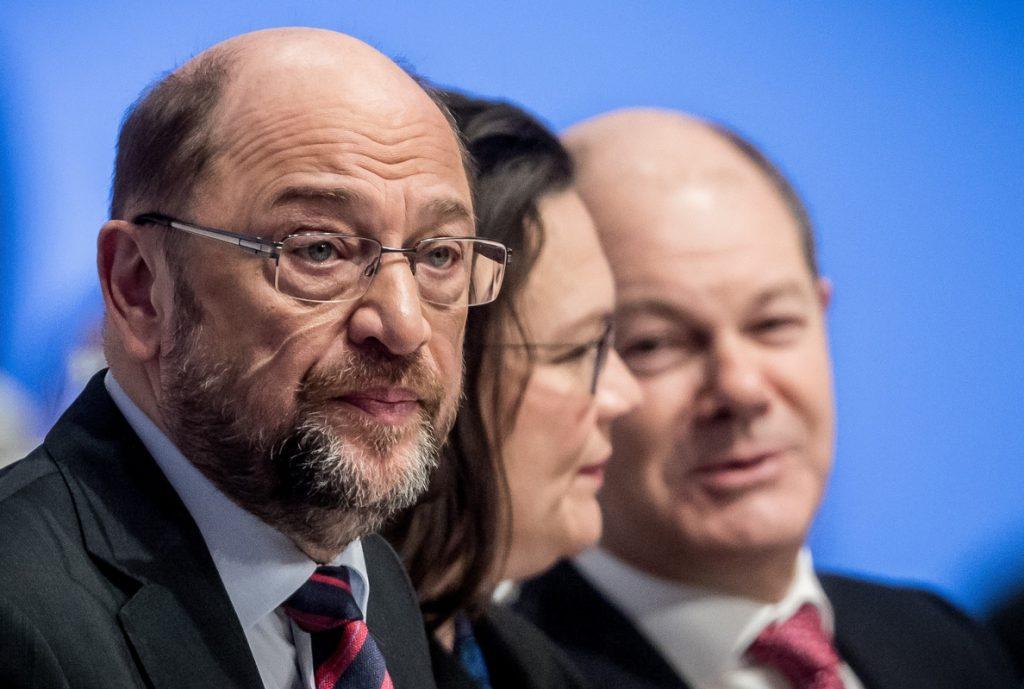 El SPD comienza sus conferencias para convencer a las bases de la viabilidad de la coalición con Merkel