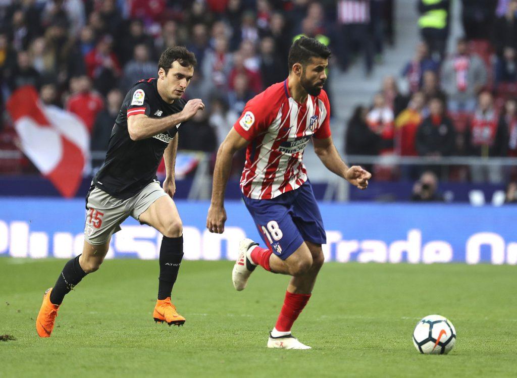 2-0. Gameiro y Costa dan la victoria al Atlético contra el Athletic