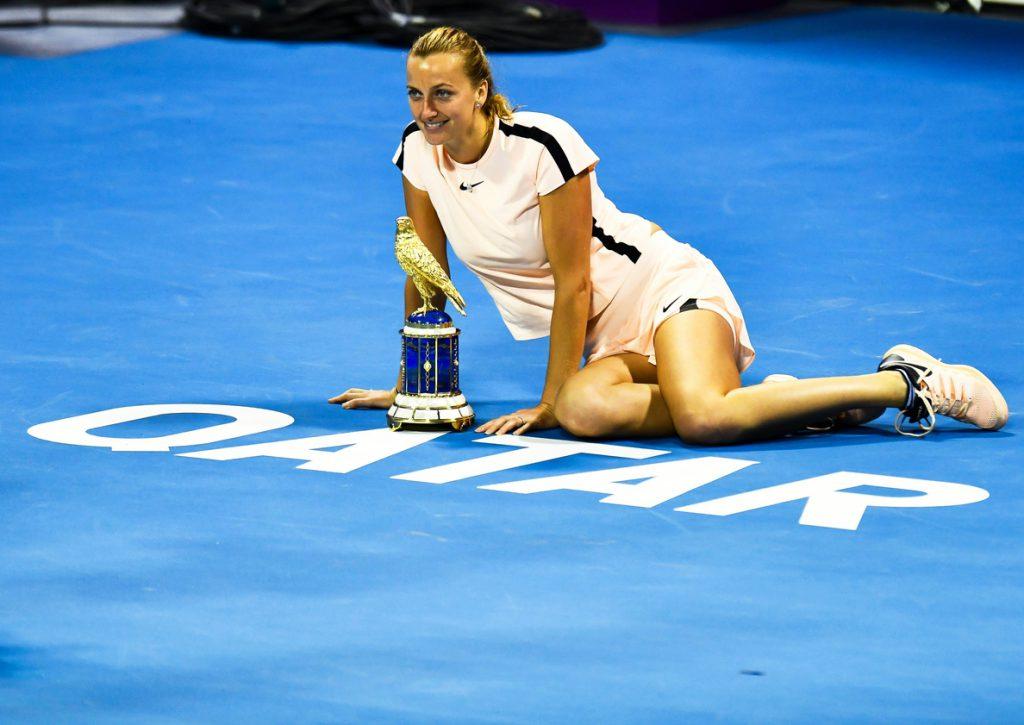 Petra Kvitova vence a Garbiñe Muguruza y triunfa en Doha