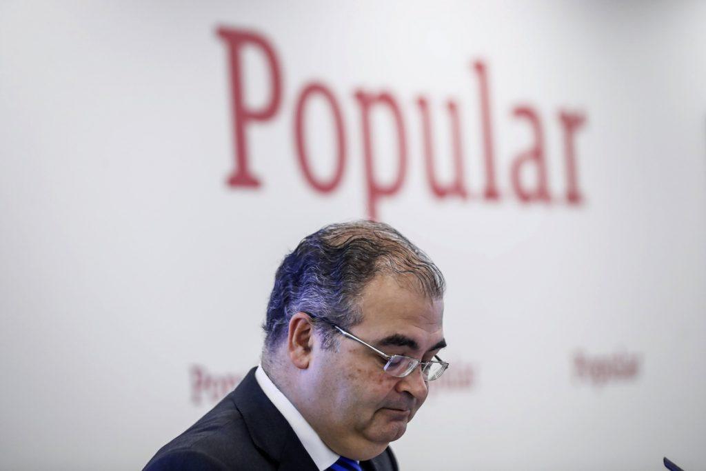 Banco Santander reclama 21,9 millones a Ángel Ron y su número dos en Banco Popular