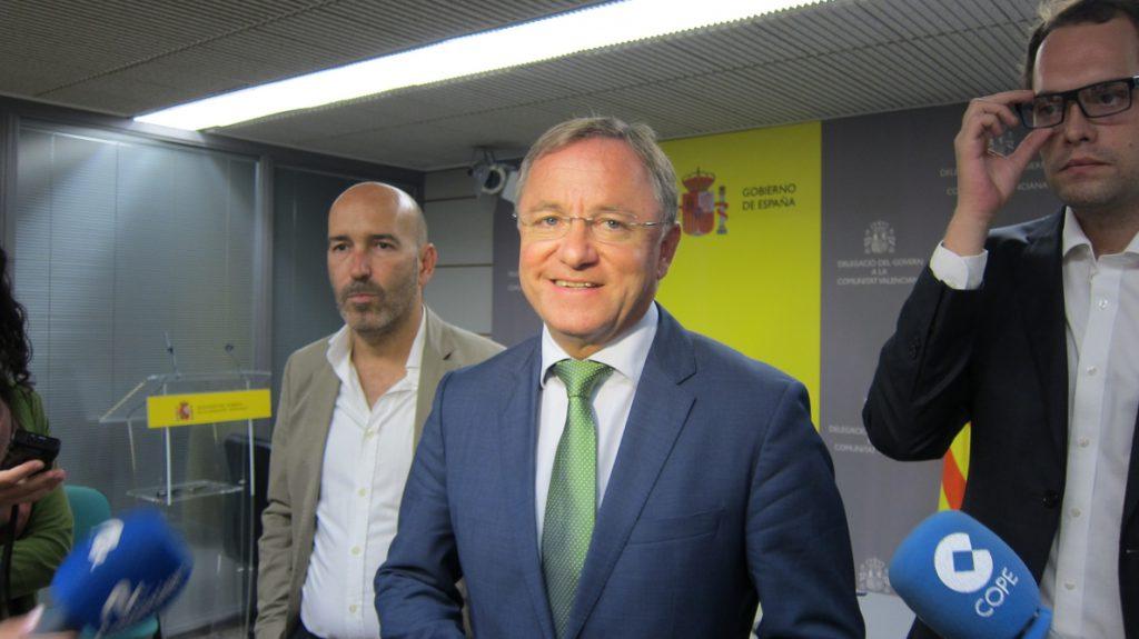 El Gobierno asegura a Compromís que «no tiene intención» de cesar a Moragues por los incidentes del 9 d'Octubre
