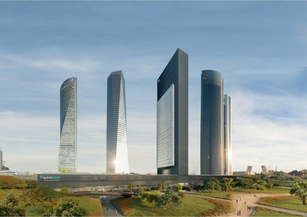 OHL construirá la quinta torre del Norte de Madrid