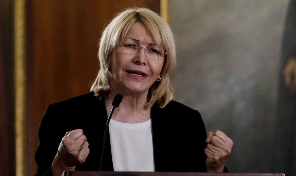 La exfiscal Luisa Ortega solicita al Supremo venezolano la captura internacional de Maduro