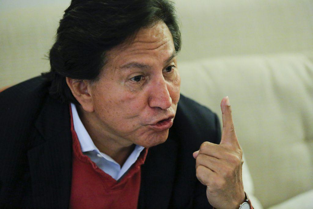 Perú solicita a EE.UU. la extradición del expresidente Alejandro Toledo