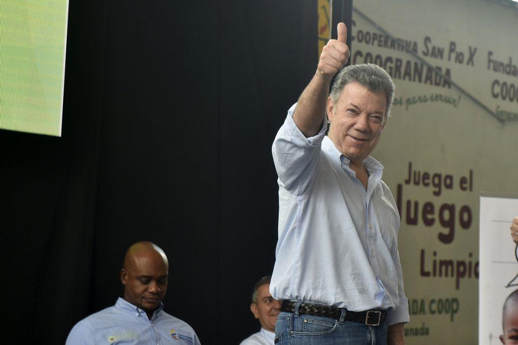 Santos asegura que un guerrillero del ELN muerto «pertenecía o perteneció» a la Guardia venezolana