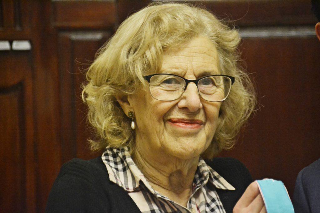 Carmena adelanta que el Ayuntamiento de Madrid «apoyará la huelga del 8 de marzo»