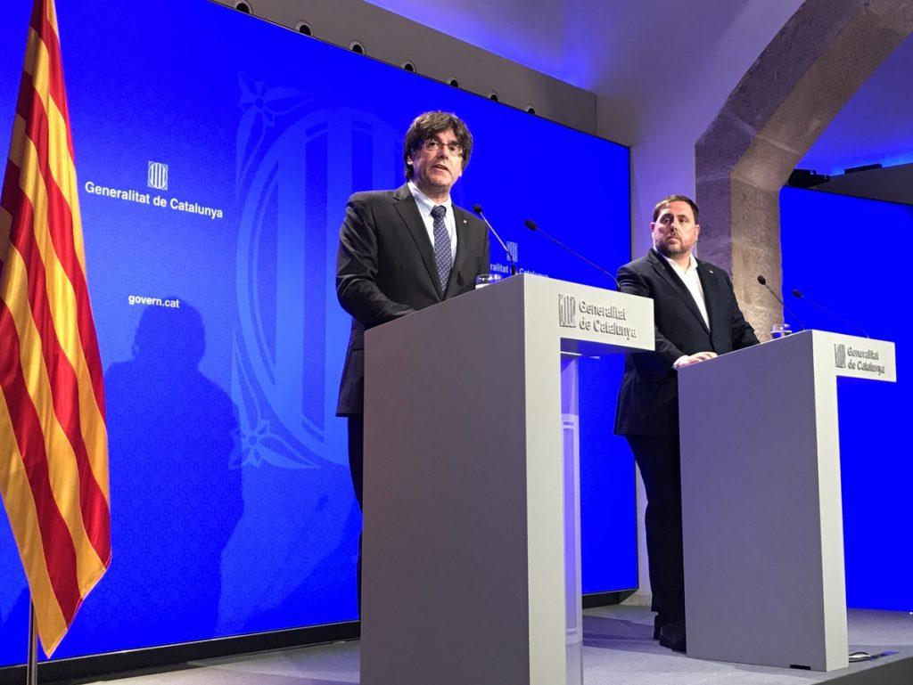 JxCat y ERC siguen las negociaciones y reflexionan sobre el encaje de Puigdemont y Junqueras