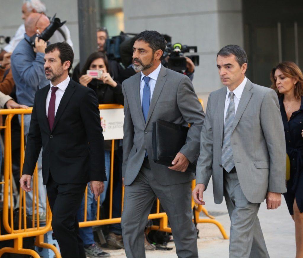 Lamela interroga mañana a Trapero por un nuevo delito de sedición en el referéndum del 1-O