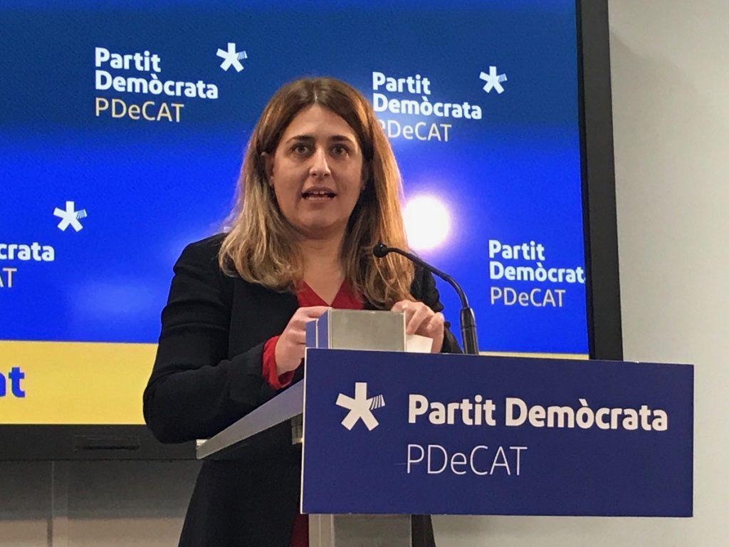 Marta Pascal pide dar a Puigdemont el papel que le otorgaron las urnas sin «forzar una vía legal»