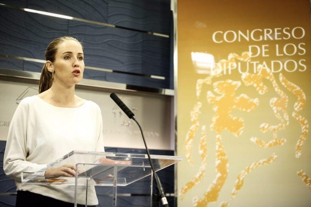 Melisa Rodríguez (Cs) critica la «utilización política» de las lenguas para «dividir o segregar»