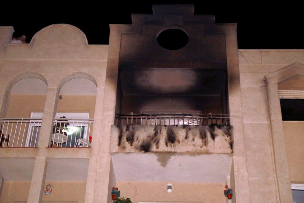 Muere bebé de seis meses en el incendio de una vivienda en Albolote (Granada)