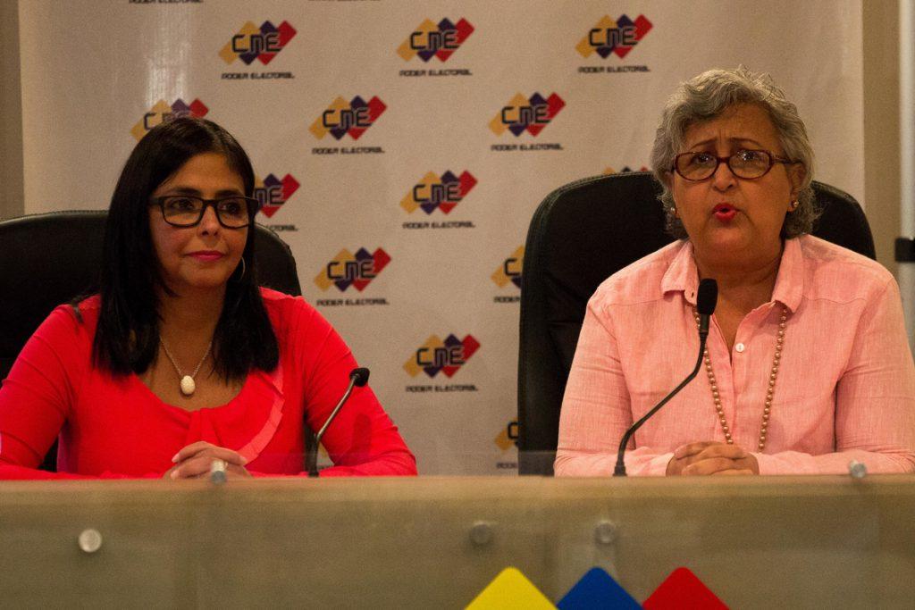 El Poder Electoral venezolano descarta unir las presidenciales y las parlamentarias