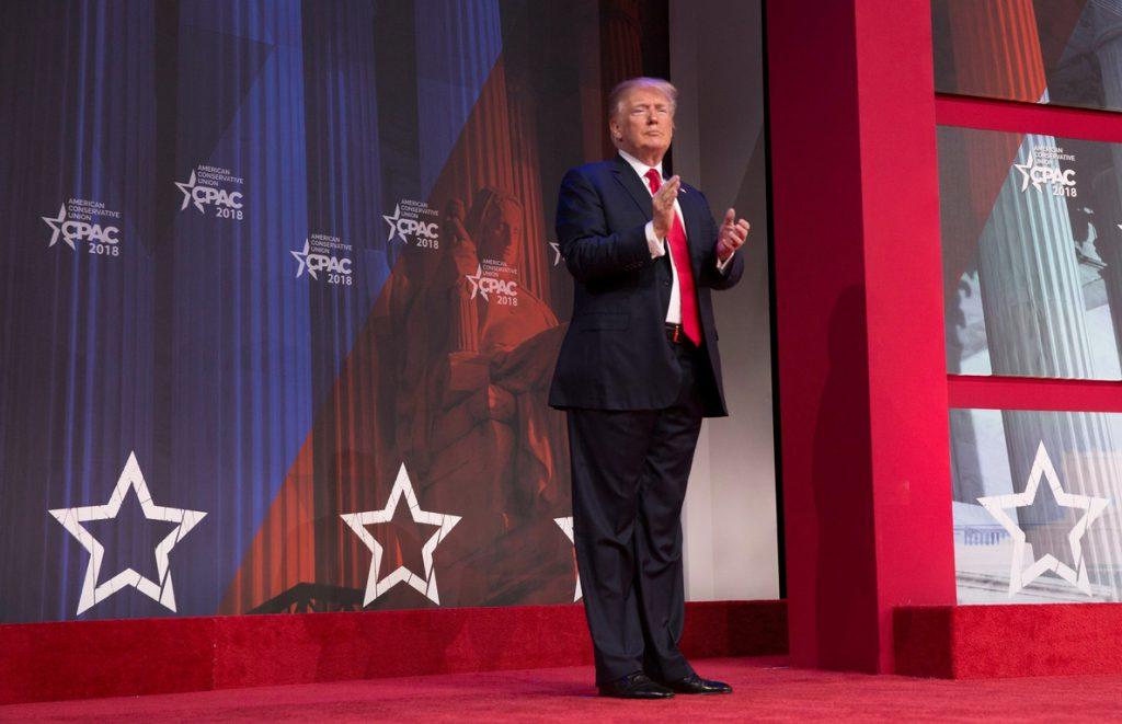 Trump provoca el éxtasis en la cumbre de los conservadores