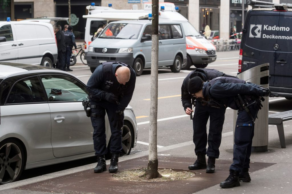 Dos muertos en un tiroteo en el centro de Zúrich