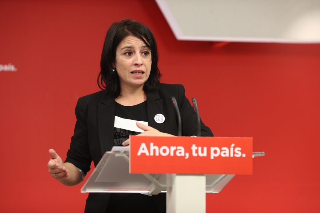 Lastra (PSOE) espera que PP y Ciudadanos no veten su proposición para «salvar las pensiones»