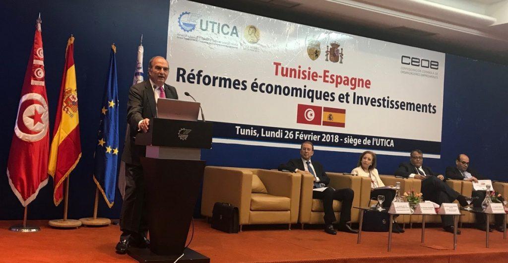 CEOE valora las reformas de Túnez para mejorar el clima de negocios y renueva acuerdo con su homóloga