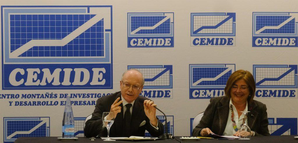 Feito (IEE): «Dentro de 10 años el peso de Cataluña caerá significativamente por la crisis independentista»