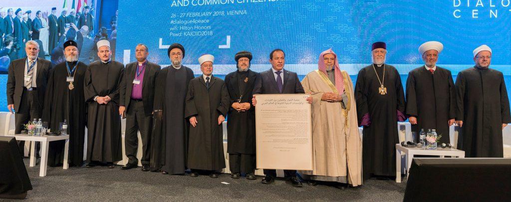 Líderes religiosos lanzan una plataforma para la cooperación en el mundo árabe