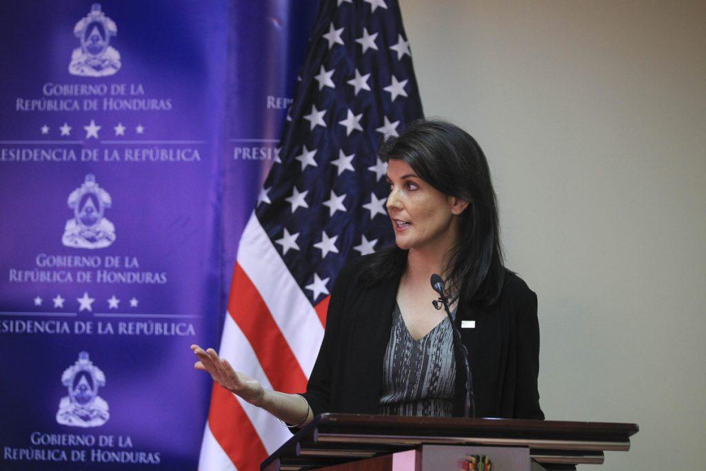 Haley: A EE.UU. le preocupa Venezuela porque se ha convertido en una dictadura