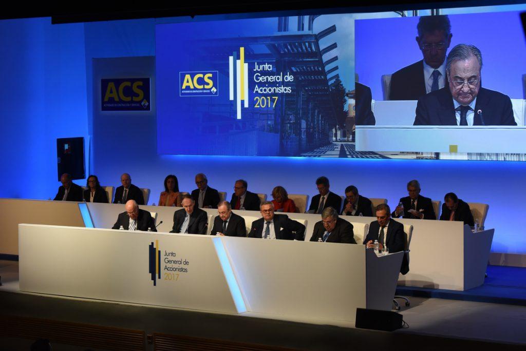 (AMP) ACS gana 802 millones, un 6,8% más, por la aportación de Hochtief