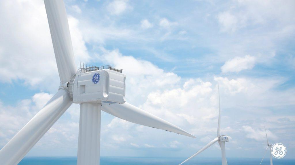 General Electric (GE) desarrollará el aerogenerador marino más grande y potente del mundo