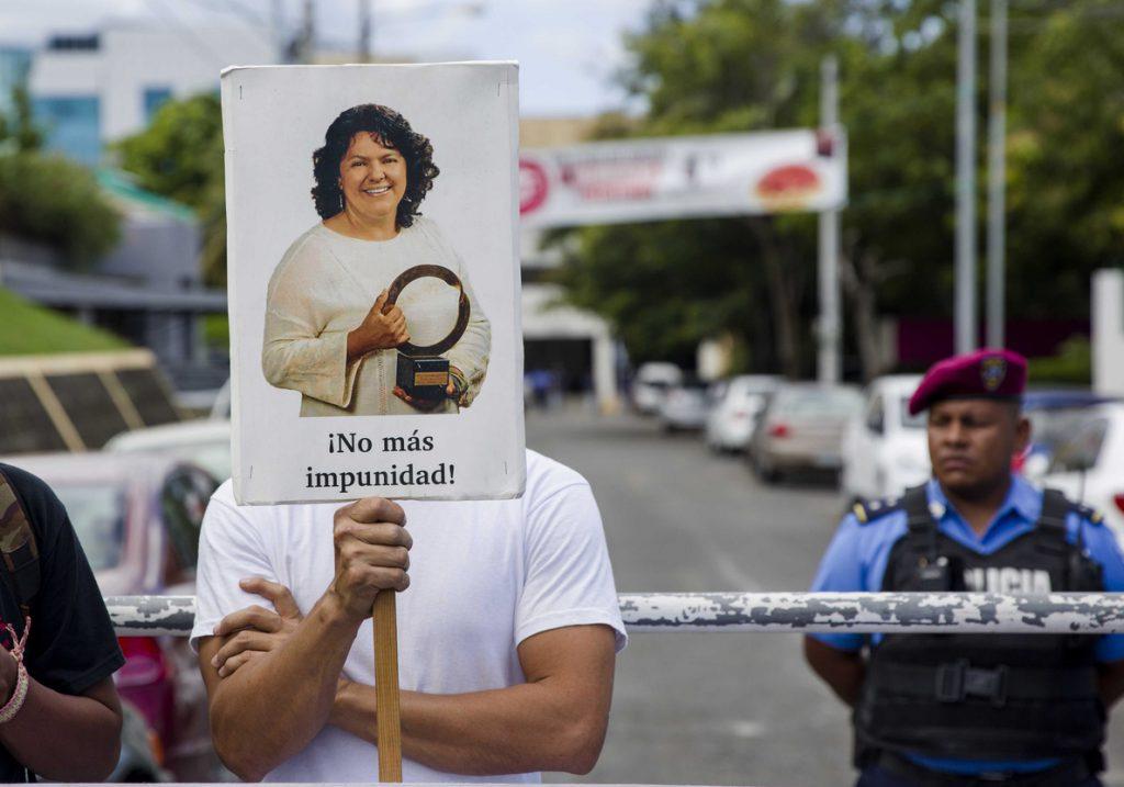 Detienen al noveno implicado en el asesinato de la ambientalista Berta Cáceres