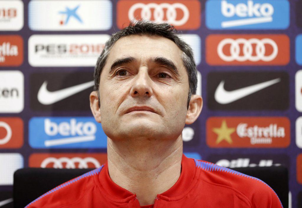 Valverde deja fuera de la lista a Yerry Mina, Denis Suárez y Aleix Vidal