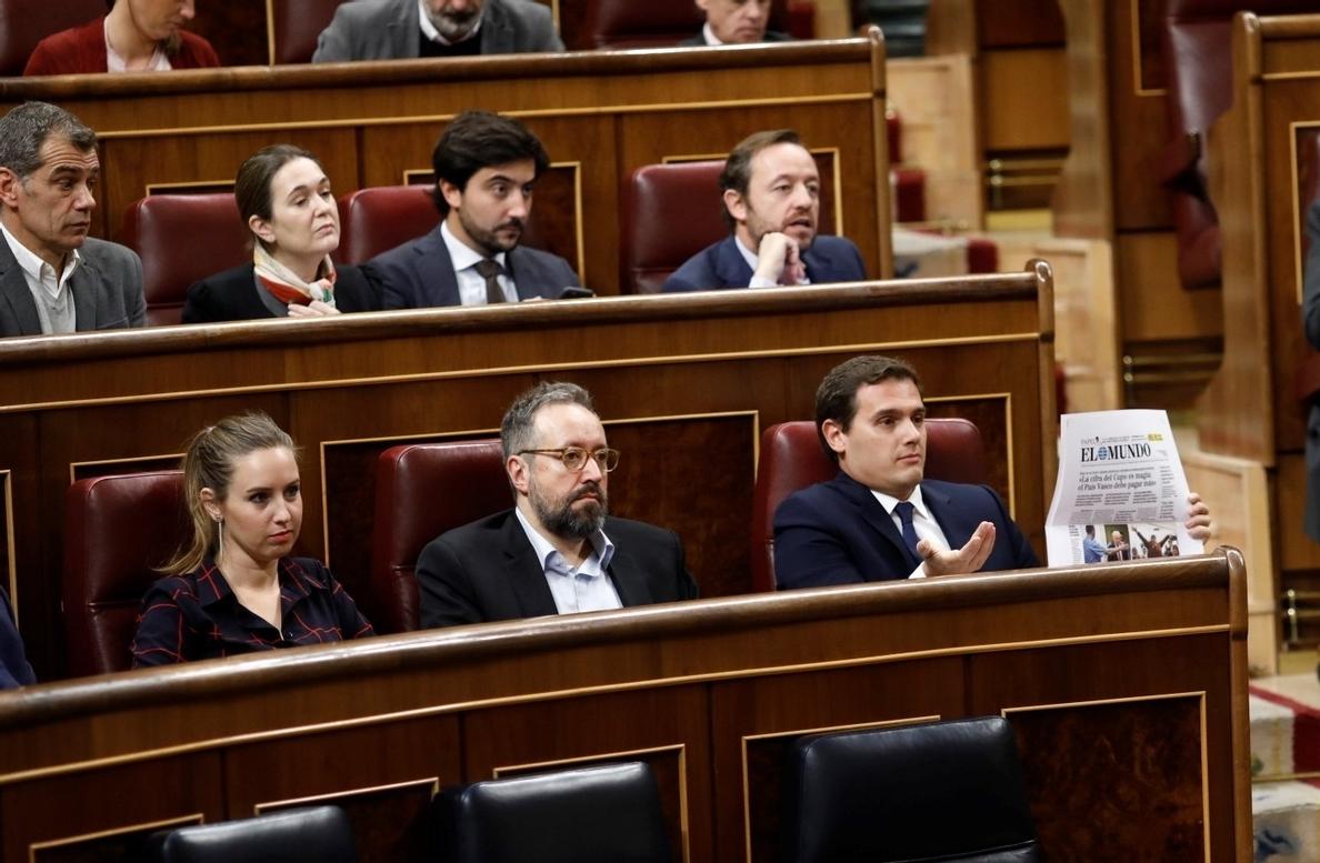 Cs censura que Rajoy mantenga a la interventora de Cataluña que no da información sobre la financiación del 1-O