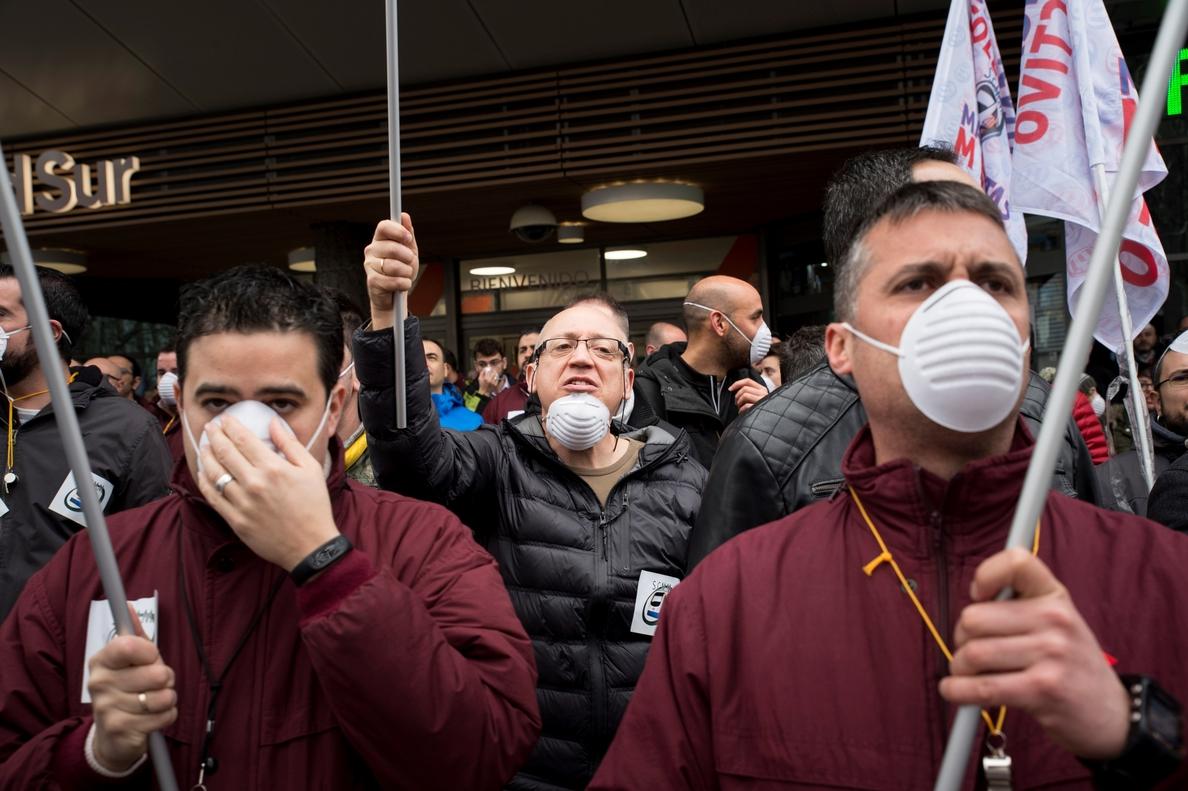 Huelga «total» dicen los maquinistas y la Comunidad minimiza el efecto del paro