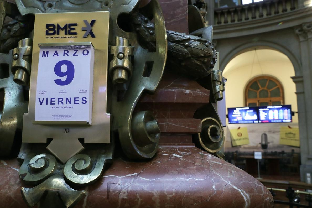 El IBEX 35 sigue plano y se asegura un cierre semanal al alza