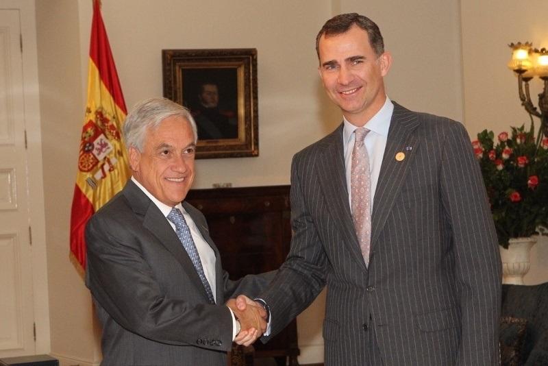 El Rey Juan Carlos asistirá en Chile a la toma de posesión de Piñera y se reunirá con Bachelet
